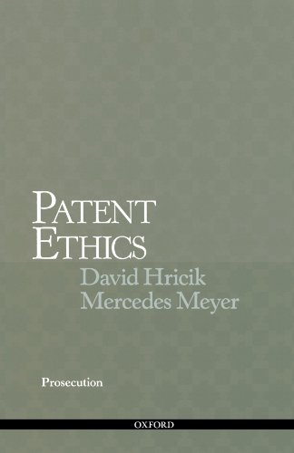 Patent Ethics Prosecution by Oxford University Press