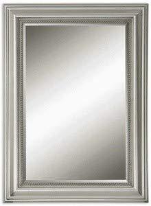 Uttermost Stuart Mirror 1.5 x 26.75 x 36.75, Silver, 36.8