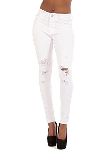 LustyChic Femme 40 Wei Blanc Jeans 7SqwH7