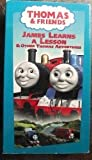 Thomas T-James Learns a Lesson W/Toy [VHS]