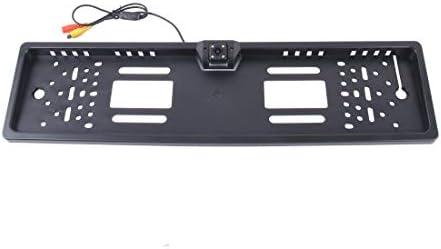 リバースカメラ 2W 80LM 5000Kホワイトライト4LEDランプでJX-9488 720×540有効画素NTSC 60HZ CMOS IIユニバーサル防水車の背面図のバックアップカメラ