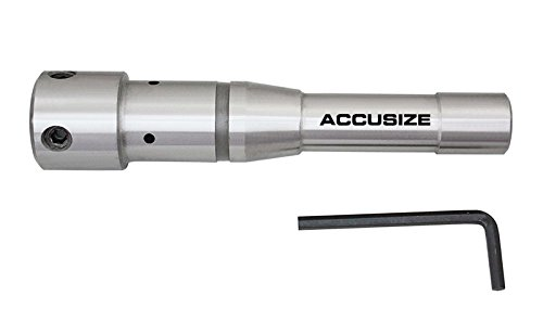 Accusize Industrial Tools R8 to 3/4'' Weldon Shank for Drill-Use Annular Cutter for Milling, Mc08-0034