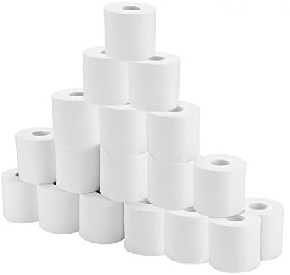 18 Rolls Toilet Paper Soft Strong Bath Tissue Home Kitchen 4 Layers Toilet Tissue for Daily Use