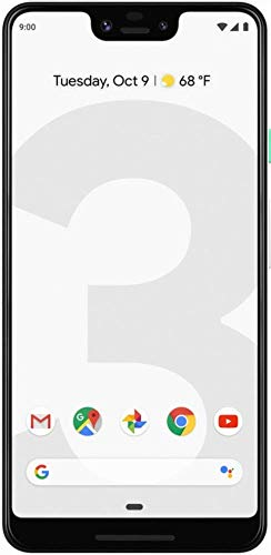 Google Pixel 3 XL 128GB Unlocked GSM & CDMA 4G LTE Android Phone w/ 12.2MP Rear & Dual 8MP Front Camera – Clearly White (Renewed)
