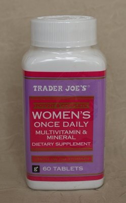 Trader Joe's Women's Once Daily Multivitamin & Mineral, 60tablets (Trader Joes Vitamins For Hair And Nails)