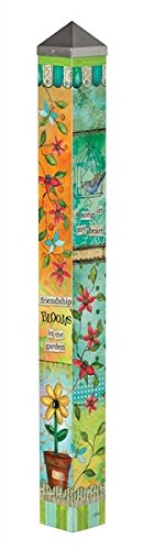 MagnetWorks PG255 5 ft. Friendship Blooms Art Pole