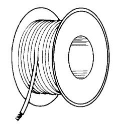 High Temperature Wire (Black #20AWG) RPW081