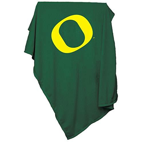 (Logo Brands NCAA Oregon Ducks Sweatshirt Blanket)