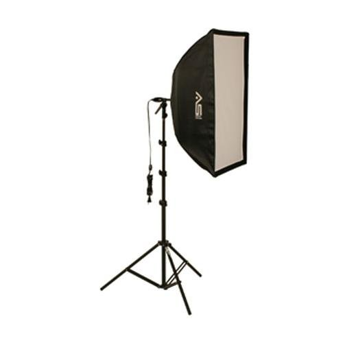 Smith-Victor KSB-500F Fluorescent Light Kit with Stand, 24