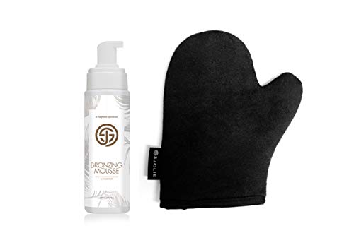 Self Tan Bronzing Mousse + Tanning Mitt Combo Pack - Organic Medium/Dark - Express Color