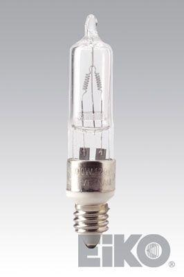 120v T4 Medium Screw - Eiko Q150CL/MC-120V 120V 150W T4-1/4 E11 Screw Base (Etg), by Eiko
