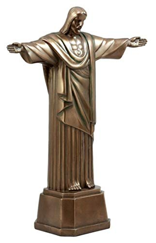 ShopForAllYou Figurines and Statues Jesus Christ The Redeemer Statue Brazil COROCOVADO Mountain Historical Landmark
