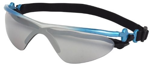 Doggles K9 Optix Blue Rubber Gradient Frame with Smoke Lens Sunglasses, Medium by - K9 Optix Sunglasses Doggles
