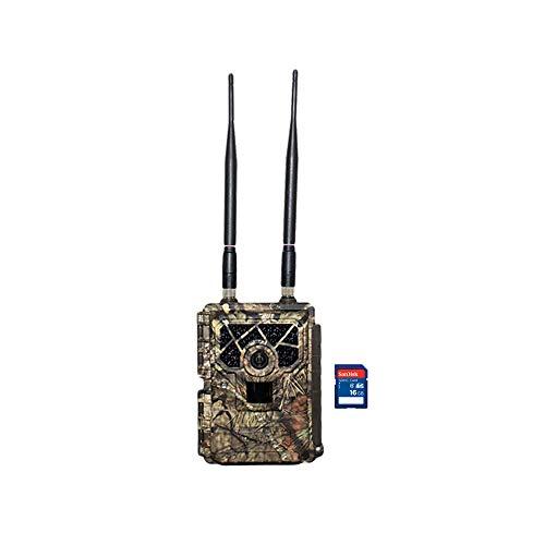 Covert Code Black Wireless LTE Camo Hunting Game Trail Camera + 16GB SD Card
