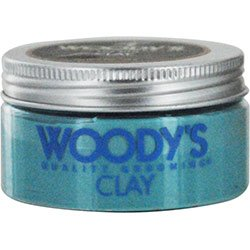 Woody's Matte Finish Clay for Men, Styling, 3.4 oz