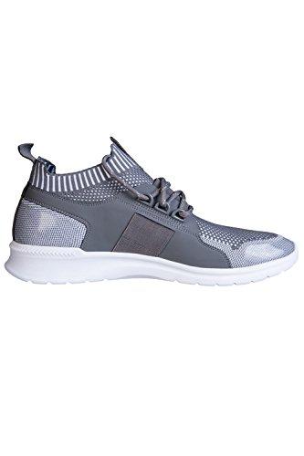 Hugo Boss Herren Sneaker Grau Grau 44 Grau