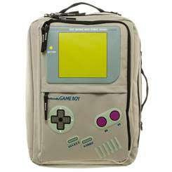 Nintendo Game Boy Convertible Backpack Computer Laptop Messenger Bag Tote