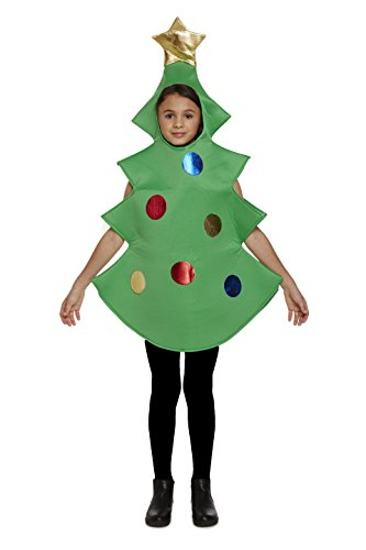 Girls Christmas Costumes (Christmas Tree Children's Costume)