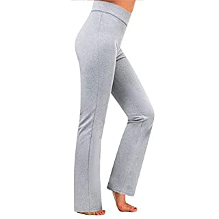 7GOALS Workout Bootcut Leggings Inner Pocket High Waist Tummy Control Yoga Lounge Casual Pant