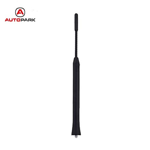 Alina-Shops - Professional 9'' Screw in AM/FM Roof Antenna Whip Mast For BMW Chevrolet Dodge Sprinter Lexus Mazda Nissan Pontiac VW for Toyota