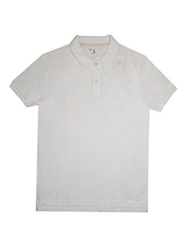 GAP Men's Solid Color Polo Shirts (XXL, White)