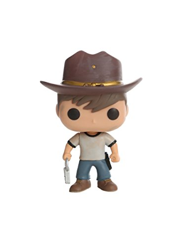 Hot Topic The Walking Dead Pop! Television Carl Vinyl Figure]()