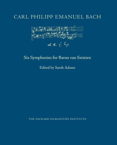 Six Symphonies for Baron van Swieten (CPEB:CW Offprints) (Volume 1)