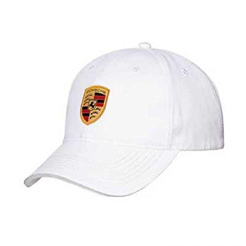 Porsche White Crest Cap