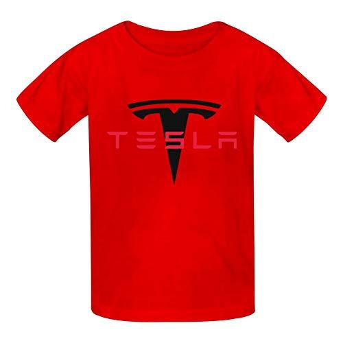 Yshoqq Kids//Youth T-Shirt Te-SLA Logo Casual Short Sleeve Tees