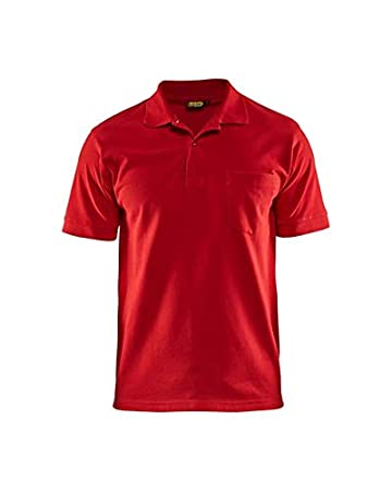 Blakläder 3305103556004 X L Polo-shirt talla 4 X L rojo: Amazon.es ...