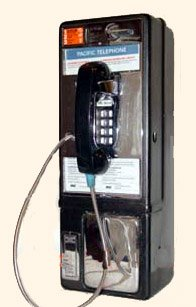 Western Electric Touchtone Payphone Add Wall Mounting
