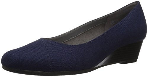 Aerosoles A2 Women's First Love Pump, Navy Fabric, 11 M US by Aerosoles