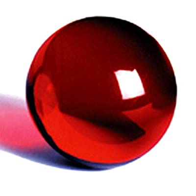 DSJUGGLING Ruby Red Acrylic Contact Juggling Ball - 76mm (3 Inches) Packed with Protective Bag: Toys & Games