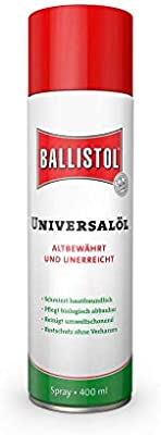 Ballistol 82176 Aceite Universal Spray, 400 ml: Amazon.es: Coche y ...