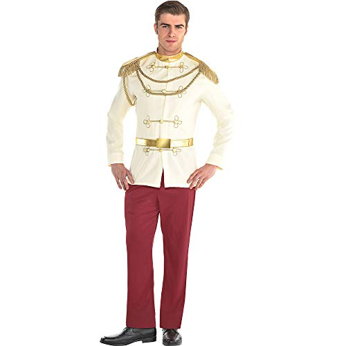 SUIT YOURSELF Prince Charming Halloween Costume for Men, Cinderella, Standard]()