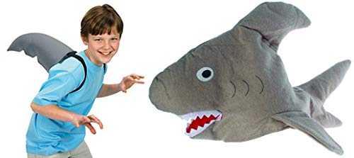 HAPPY DEALS ~ Shark Hat and Shark Fin - Dress up Set]()