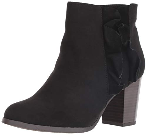 Fergalicious Women's Cashen Ankle Boot, Black, 12 M US
