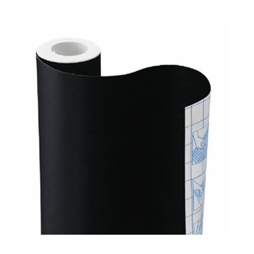 Set of 2, Adhesive Chalkboard Contact Paper(Each 17.7'' × 78.7'') & Free Chalks. Great Blackboard for Home Office