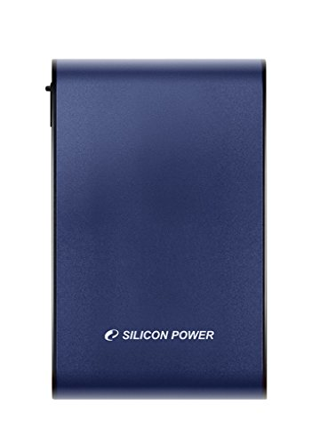 2TB Silicon Power Armor A80 Shockproof/Waterproof Portable Hard Drive - USB3.0 - Blue Edition by Silicon Power (Image #3)