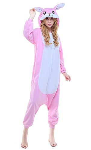 NEWCOSPLAY Unisex Adult Pajamas - Plush One Piece Cosplay, used for sale  Delivered anywhere in USA