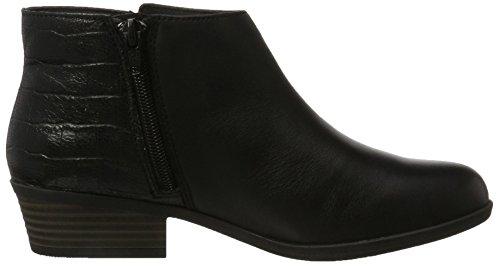 Leather Black Combat Clarks Addiy Black Boots Zora Women's Uqcvcwp4