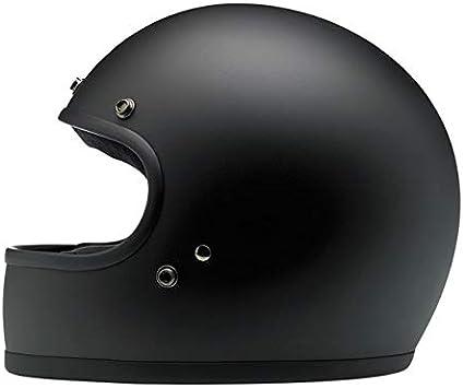 Casco Integrale Gringo Biltwell Nero Opaco Flat Black OMOLOGATO Doppia OMOLOGAZIONE ECE (Europa) & DOT (America) Helmet Biker Custom Vintage Retrò