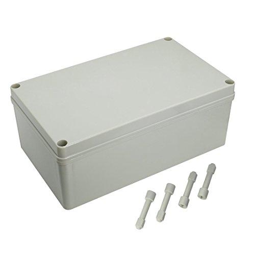 LeMotech Waterproof Dustproof IP67 Junction Box DIY Case Enclosure Gray 9.8