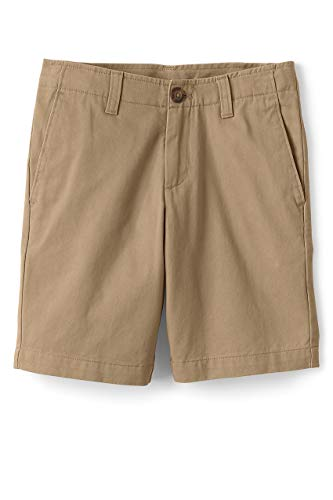 (Lands' End School Uniform Boys Chino Cadet Shorts Light)