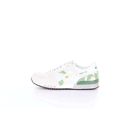 Diadora 50117234601 Sneakers Harren Weiss und grün