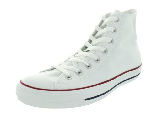 Converse Unisex Chuck Taylor All Star Core Hi Sneaker, Optical White, Mens 6, Womens 8 Medium