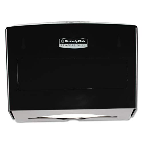 Scott 09215 Scottfold Folded Towel Dispenser, Plastic, 10 3/4 x 4 3/4 x 9, Smoke ()