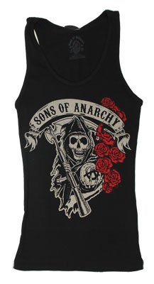 Rose Reaper - Sons Of Anarchy Women's Tank Top