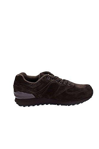 B9228 sneaker uomo POLO SPORT RALPH LAUREN SLATON PONY scarpa marrone shoe man [45 EU]