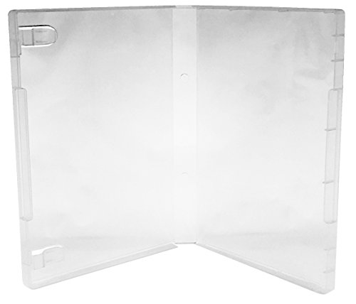 (100) CheckOutStore Plastic Storage Cases for Rubber Stamps (Clear / Spine: 21 mm) by CheckOutStore